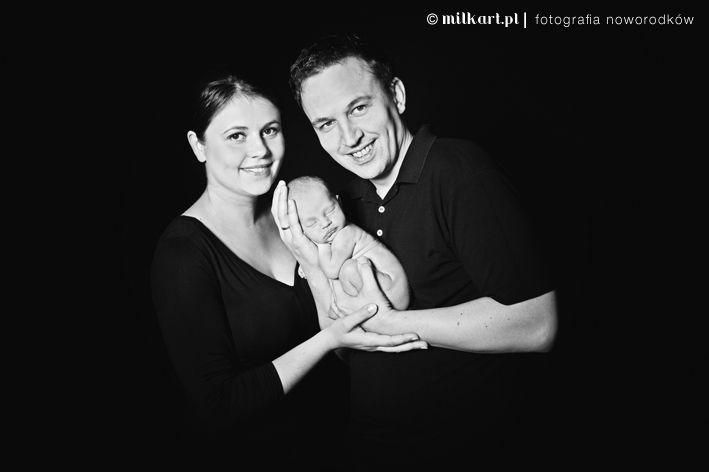 newborn family photography by milkart.pl