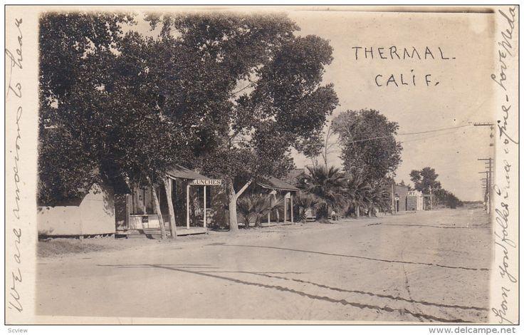 RP: Main Street , THERMAL , California , PU-1920