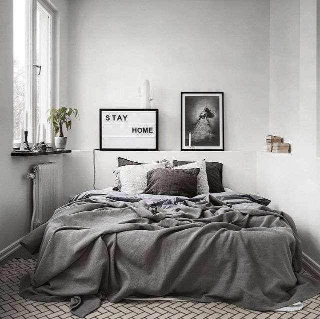 A stunning grey bedroom - Is To Me