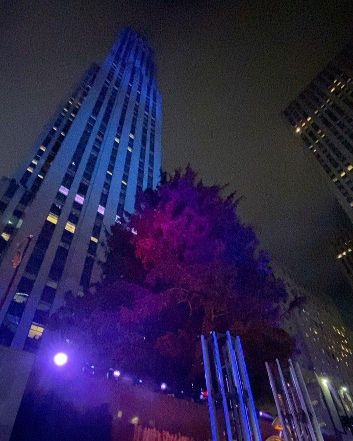 "Rockefeller Center on Instagram ""🌲→🎄The holidays are here"