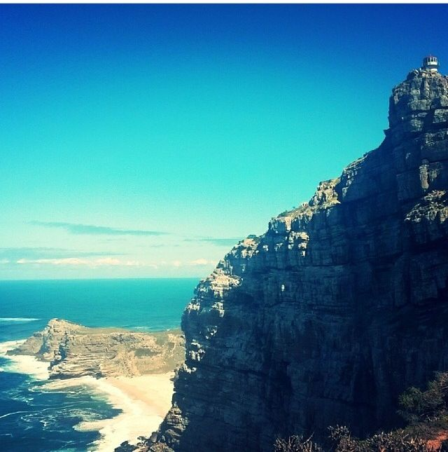 Stunning views at #CapePoint