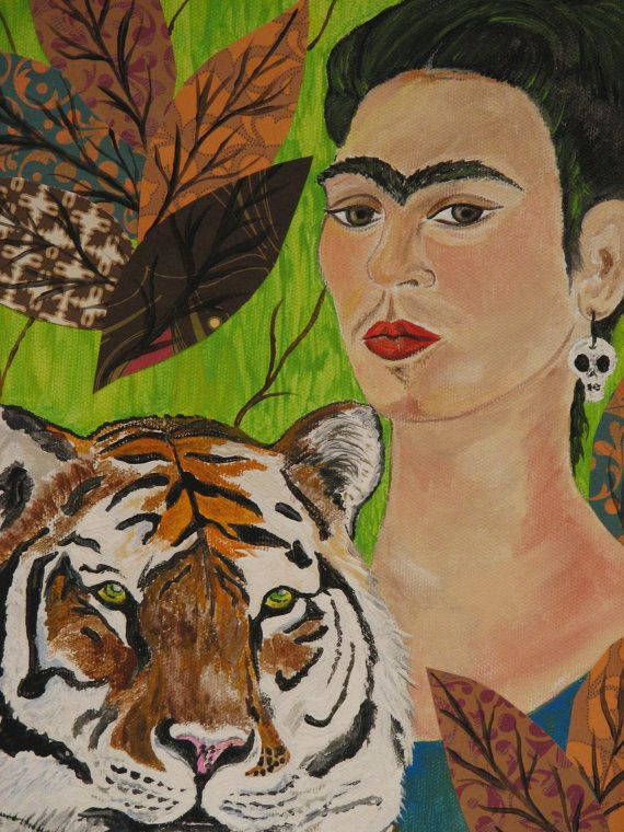 102 best frida kahlo paintings images on pinterest frida for Diego rivera day of the dead mural