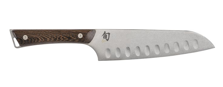 Kanso 7-in. Hollow-Ground Santoku