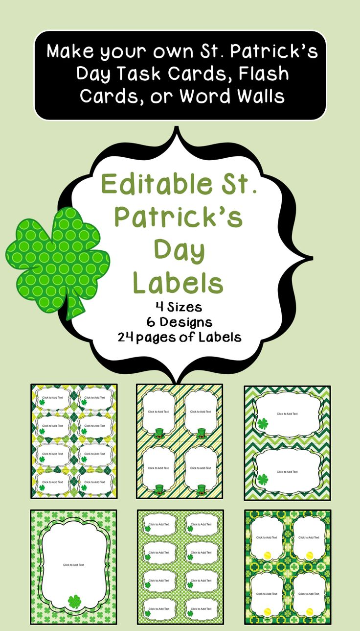 52 best St. Patrick's Day Resources images on Pinterest ...