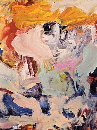 Willem de Kooning 1978 Abstract Expressionisme, Actionpainting