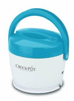 Crock-Pot Lunch Crock Food Warmer - Simply fill the Lunch Crock, take it with you when you head off to work and plug it in to warm your meal on your schedule.