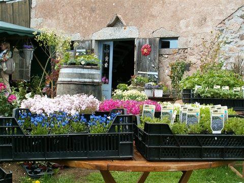 La Petite Grange - www.petitegrange.com.  Plantes & Deco.  Village d'ent Haut, 58230 Gien Sur Cure.