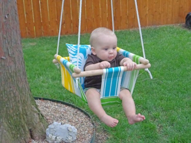 DIY Baby Swing {Baby Accessories}
