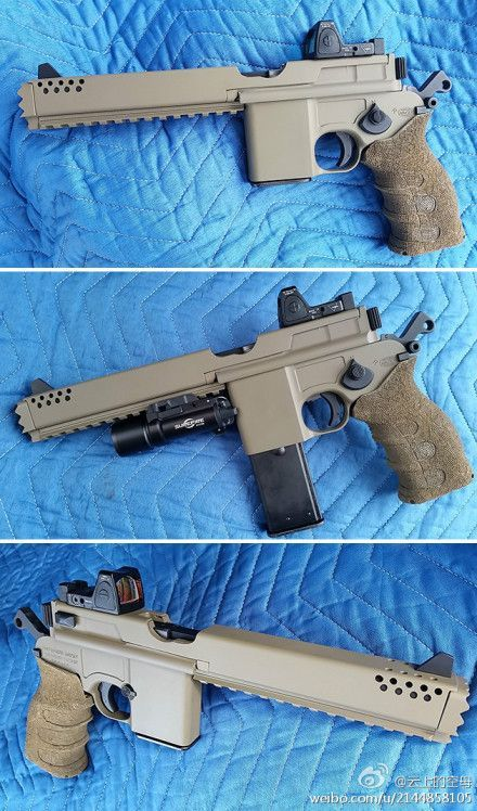 Heavily modified M712 Schnellfeuer.: