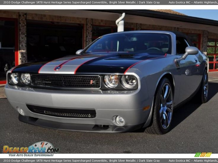 Dodge Challenger Srt8 Supercharged   View of 2010 Dodge Challenger SRT8 Hurst Heritage Series Supercharged ...