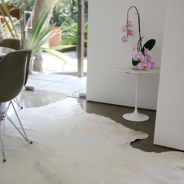 White Cowhide Rugs By Pure All Natural Premium Select