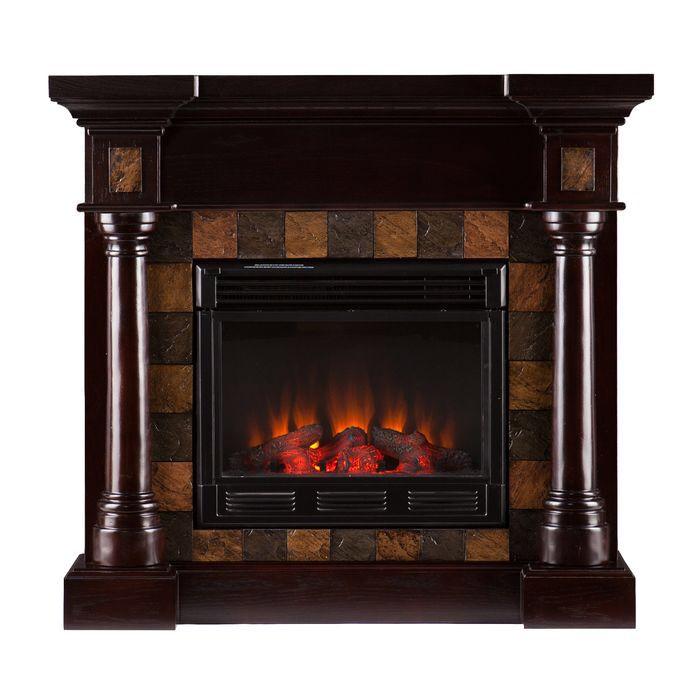 Black Cleft Slate Fireplace : Ideas about slate fireplace on pinterest