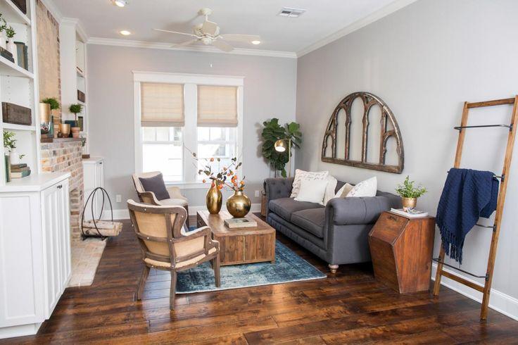 Die besten 25 fixe upper saison 1 ideen auf pinterest renovierungsbed rftige lackfarben - Fixer upper wohnzimmer ...
