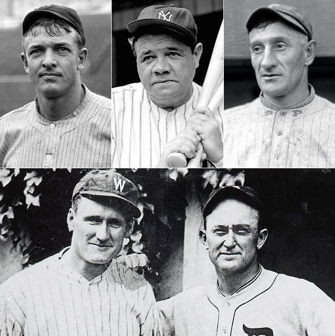 Christy Matthewson Babe Ruth Honus Wagner Walter Johnson Ty Cobb Baseball History Minnesota Twins Baseball Twins Baseball