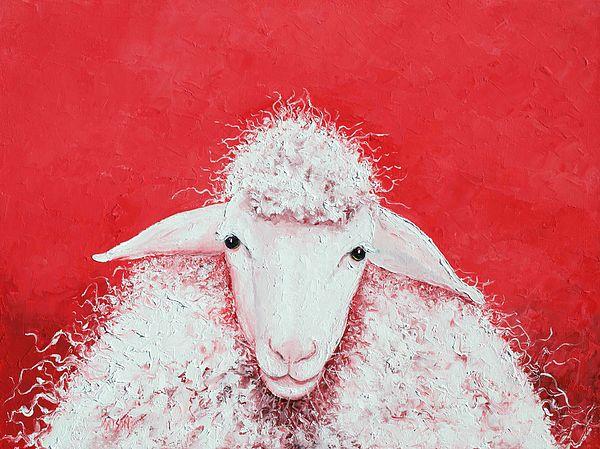 Sheep painting, Gabriel  #kitchenwalldecor #frenchcountrydecor #frenchcountrykitchen #kitchenart