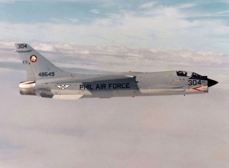 A Vought F-8 Crusader From the Philippine Air Force.