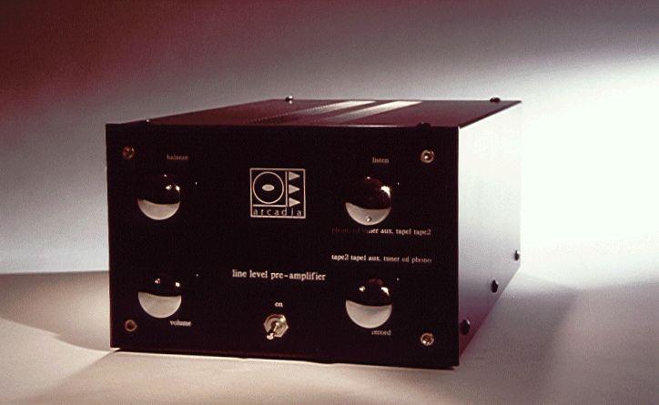 SJS Arcadia valve Pre-amp Mine was built in 1987.