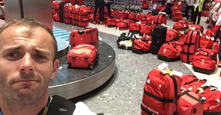 British Olympic Athletes All Have The Same Bag And Nobody Knows Whose Is Whose #travel