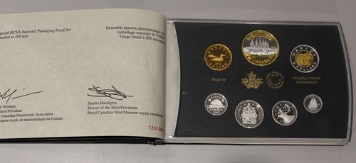 2016 CNA FINE SILVER PROOF SET 150TH ANNIVERSARY OF THE TRANSATLANTIC CABLE