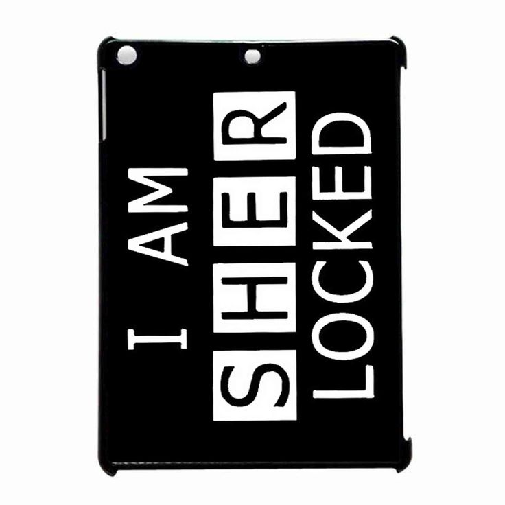 Sherlocked iPad Air Case : Ipad Air Case, Ipad Air and iPad