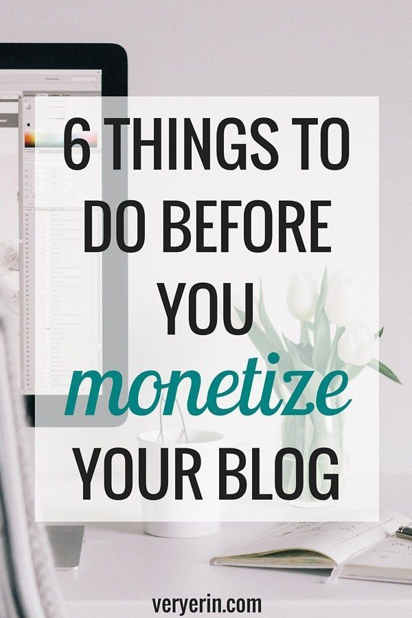 6 Things to Do Before You Monetize a Blog – IamBrittneyJ