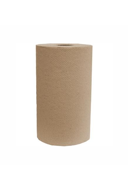 Decor, 205'  Brown roll paper towell: 24 rolls of 205', Brown paper towell