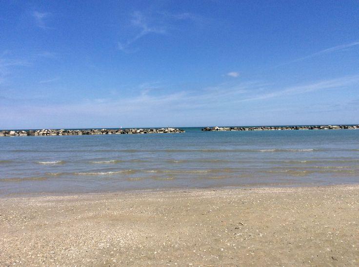 #spiaggia #mare #riviera #Romagna  #Bellaria #vacanza #serenità #passeggiate #sabbia #strand #sable #vacances #vakanz