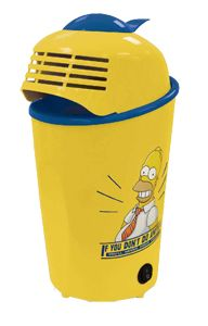 The Simpsons Popcorn Maker- DOH!  Get popping your own popcorn with this cool The Simpsons popcorn maker, makes perfect clean healthy popcorn  http://www.comparestoreprices.co.uk/childrens-gifts/the-simpsons-popcorn-maker.asp #popcornmakers #popcorn #gadgets #kitchengadgets #makepopcorn #giftideas #christmas2014 #christmasgifts #giftforhim #giftsforman #noveltygifts #noveltypopcornmaker #popcornmachine