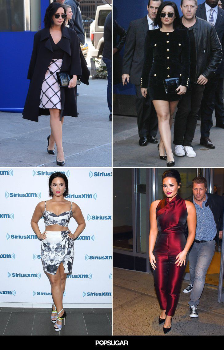 See Demi Lovato's Most Stylish Moments of 2015