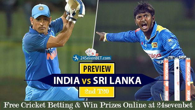 Can India #Win 2nd T20 & Win #T20 Series. Place Free Bet on your Favourite Team & Win #Prizes Online at India's top Cricket #Betting Site