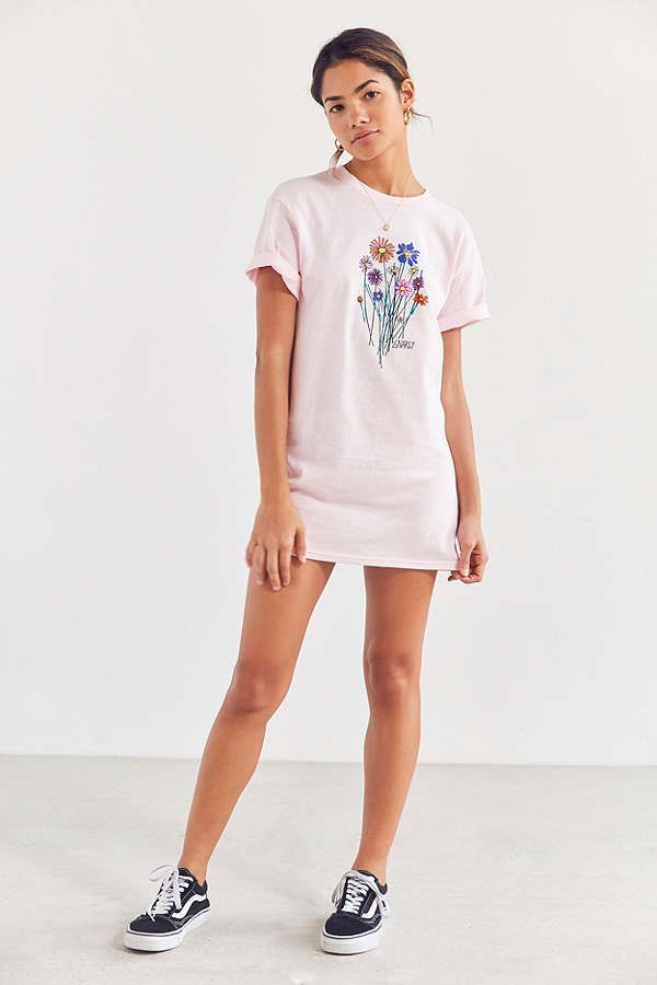 Slide View: 4: Gnarly Bouquet Short Sleeve Tee