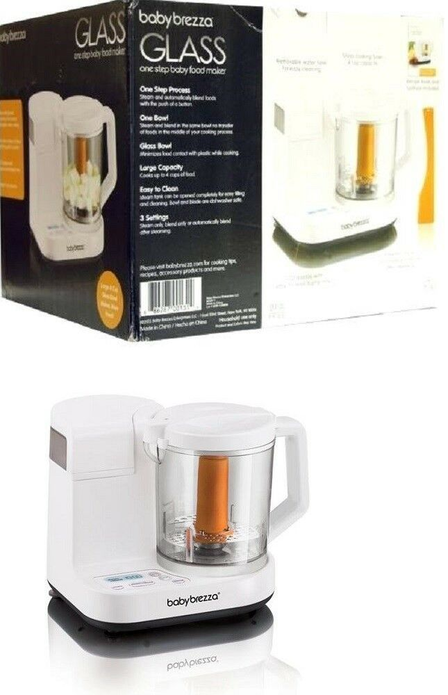 7784658f350a Food Grinders and Blenders 32866  Baby Brezza Glass One Step Baby Food Maker  - Brand