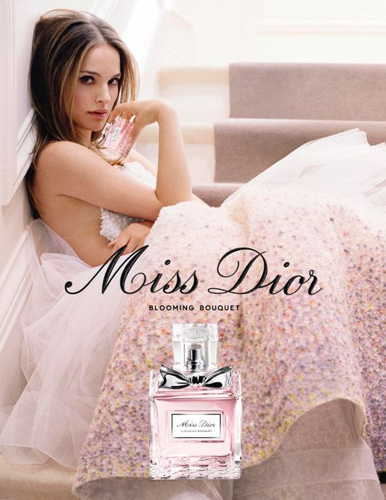 Nathalie Portman Miss Dior Blooming Bouquet <3