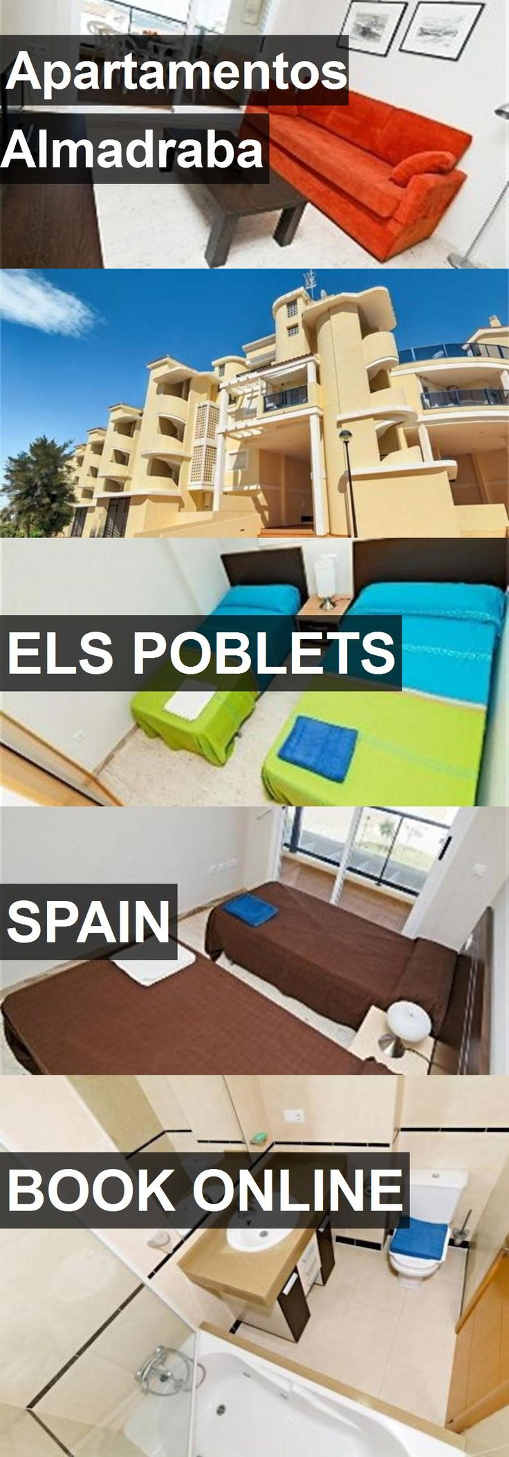 Hotel Apartamentos Almadraba in Els Poblets, Spain. For more information, photos, reviews and best prices please follow the link. #Spain #ElsPoblets #travel #vacation #hotel