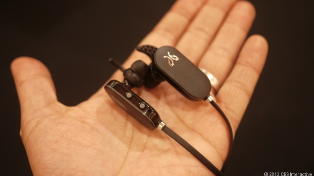 View images and photos in CNET's Slick CTIA Bluetooth gadgets (photos) - For $99, the Freedom JF3 wireless earbuds from Jay Bird offer wireless stereo Bluetooth connection, passive noise cancellation, and a rated run time of 6 hours.