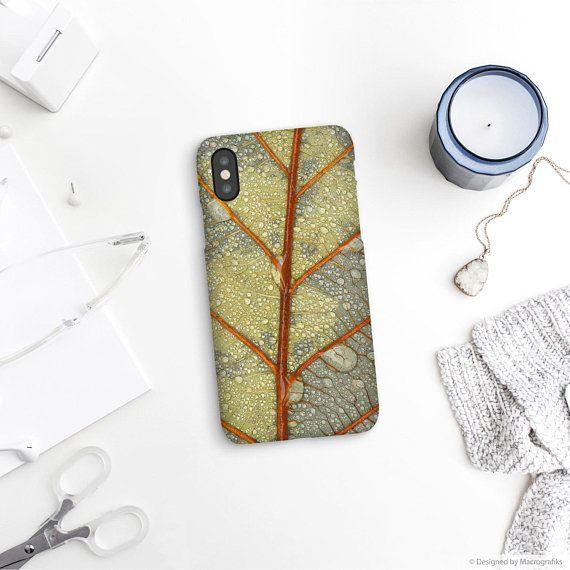 Leaf Art Phone Case, Nature Phone Art, iPhone 8 Case, Cell Phone Covers, Phone Cases, Smartphone Case, New Phone Cases. MW047