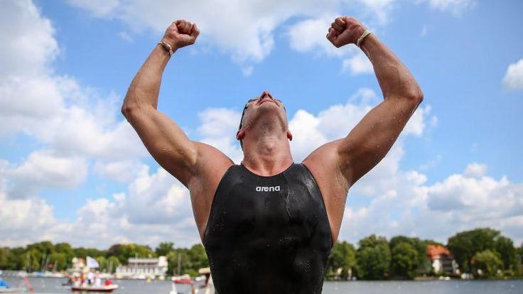 Ferry Weertman Europees kampioen 10k open water zwemmen