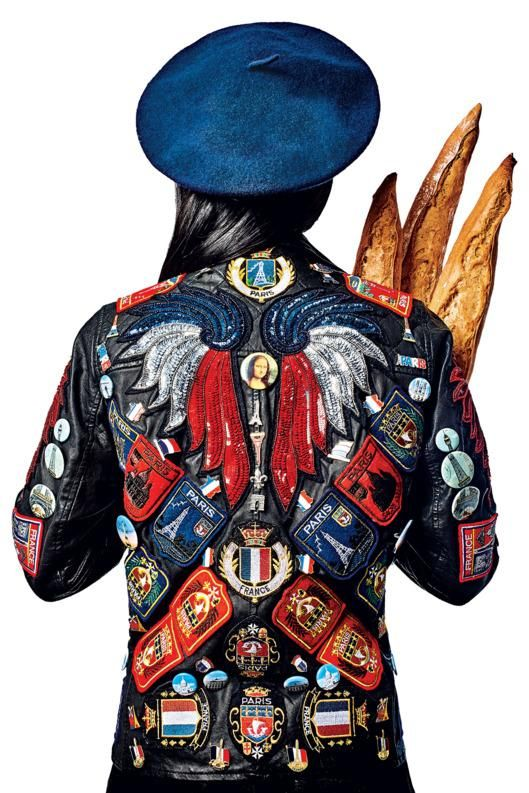 A Paris-Themed Motorcycle Jacket That You Can Buy for a Good Cause