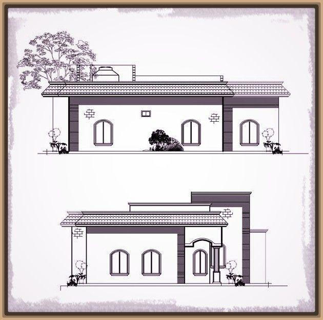 Las 25 mejores ideas sobre planos para casas peque as en for Planos y fachadas de casas pequenas