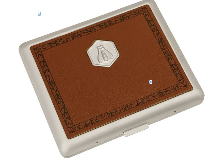 Looking to buy one smaller cigarette case. Cigarette Case Laguiole Brownstores 18 normal sized cigarettes. Also you can choose your own engraving!