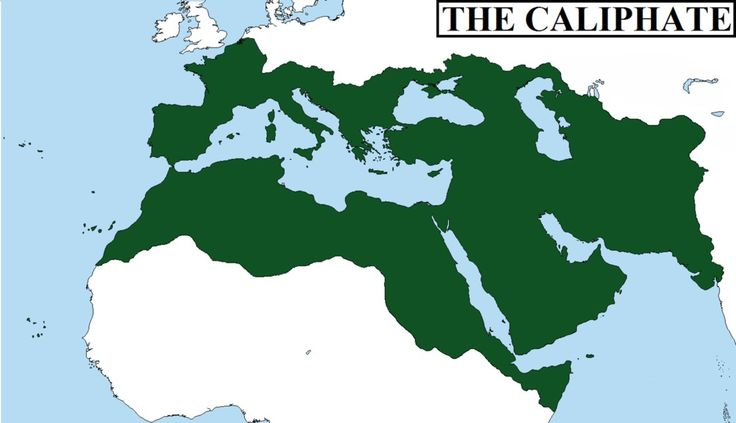 caliphate - A form of islamic goverment led by a caliph