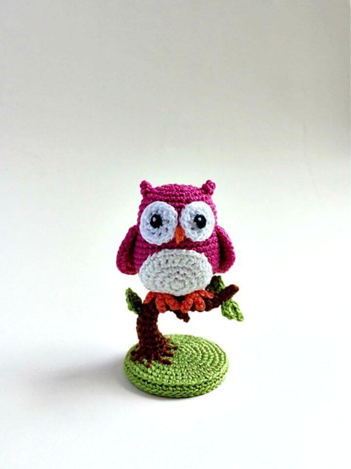 Crochet Owl - 92 Free Crochet Owl Patterns | Funny crochet | Croché ...