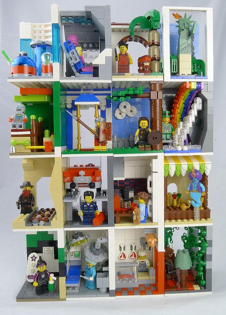 Lego Minifigure Series 6 - Display