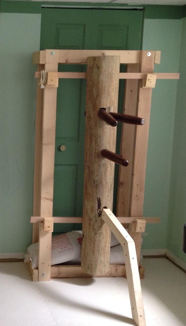 Making a Kung Fu Wooden Dummy - The Joy of Hack