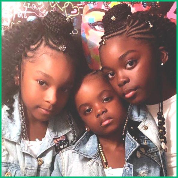 Modele De Tresse Senegalaise Pour Petite Fille 2019   Images coiffure, Salon de coiffure afro et ...