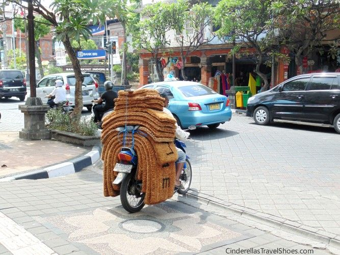 On motorbikes you can take everything