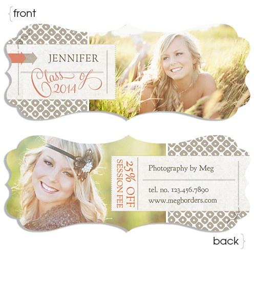 perfect fit for senior reps and studio referral programs! Luxe Senior Ornate Rep Card One - http://store.millerslab.com/collections/ew-couture/products/luxe-senior-ornate-rep-card-one#