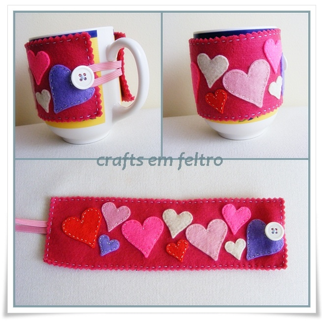 mug cozy with spread layout