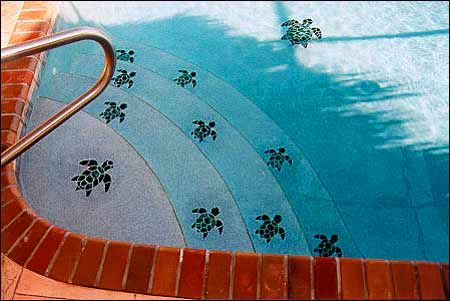 Tile Art For Swimming Pools Swimming Pools Pinterest