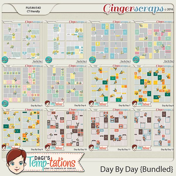 Day By Day {Bundled}